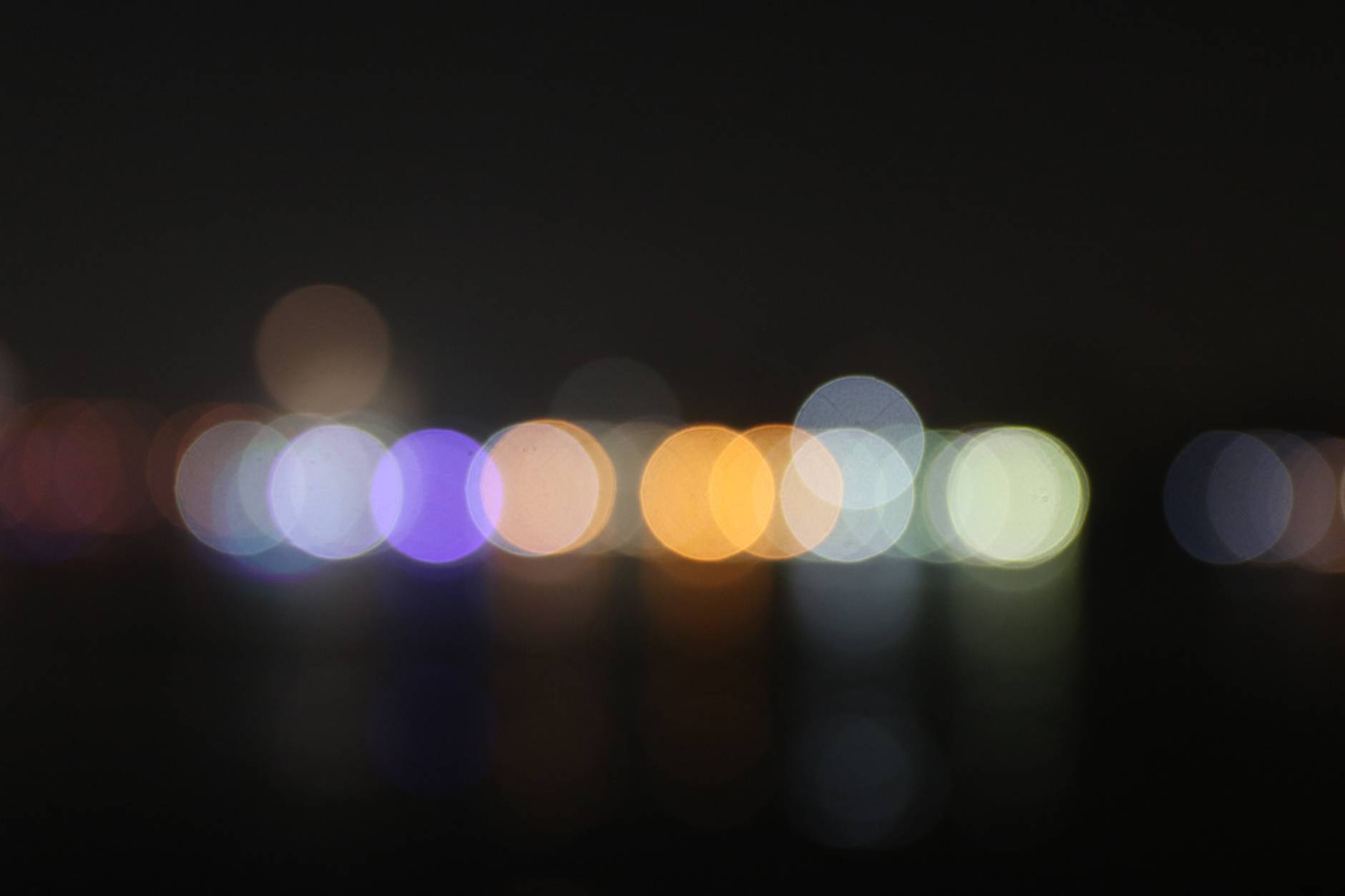 blur lights photography during night